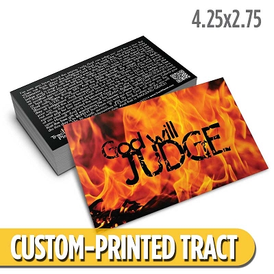 Custom Tract - God Will Judge