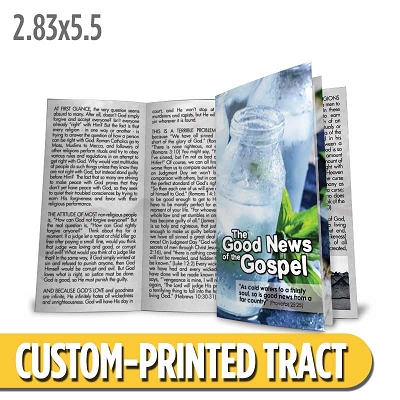 Custom Tract - The Good News of the Gospel
