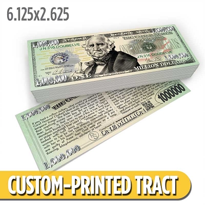 Custom Tract - Houston Million Dollar Bill