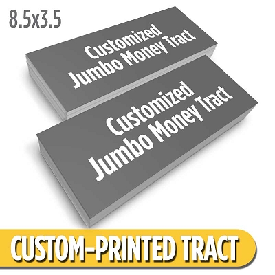 Custom Money Tract - Jumbo
