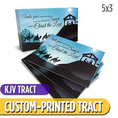 Custom Tract - Nativity Tract (KJV)