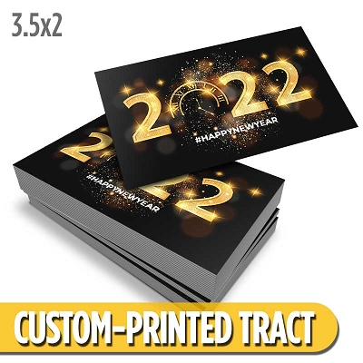 Custom Tract - New Years Tract