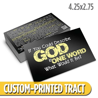 Custom Tract - One Word