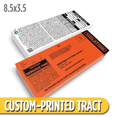 Custom Tract - Parking Ticket