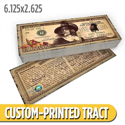Custom Tract - Thanksgiving Bucks
