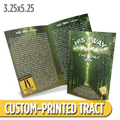 Custom Tract - The Only Way