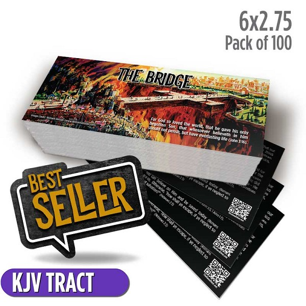 The Bridge Tract (Pack of 100)