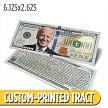 Custom 'Biden' Million Dollar Bill (6.125 x 2.625)