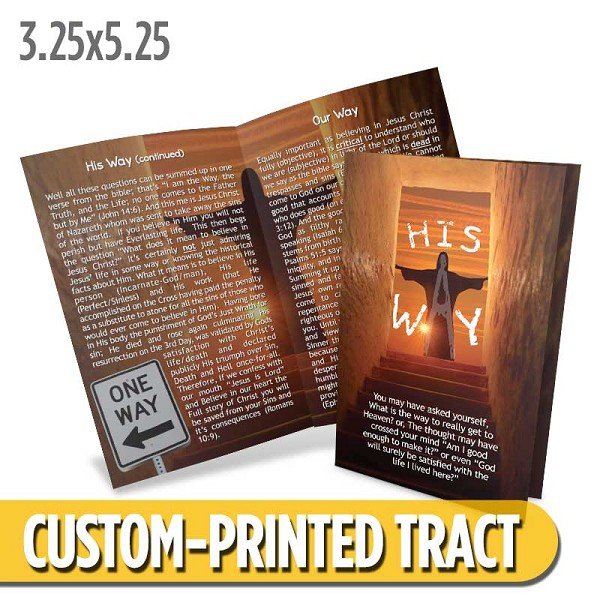 Custom 'His Way' Tract (Bi-Fold)