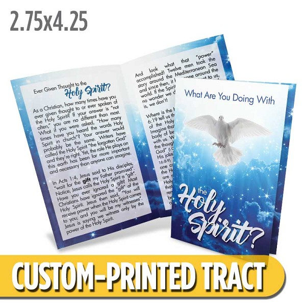 Custom 'Holy Spirit' Tract (Bi-Fold)