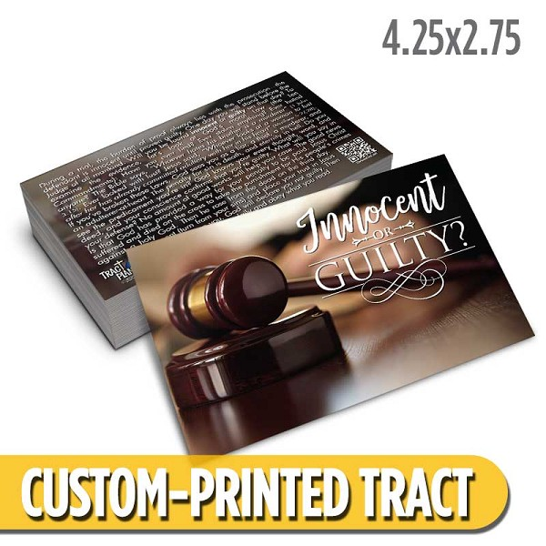 Custom 'Innocent or Guilty' Tract (4.25x2.75)