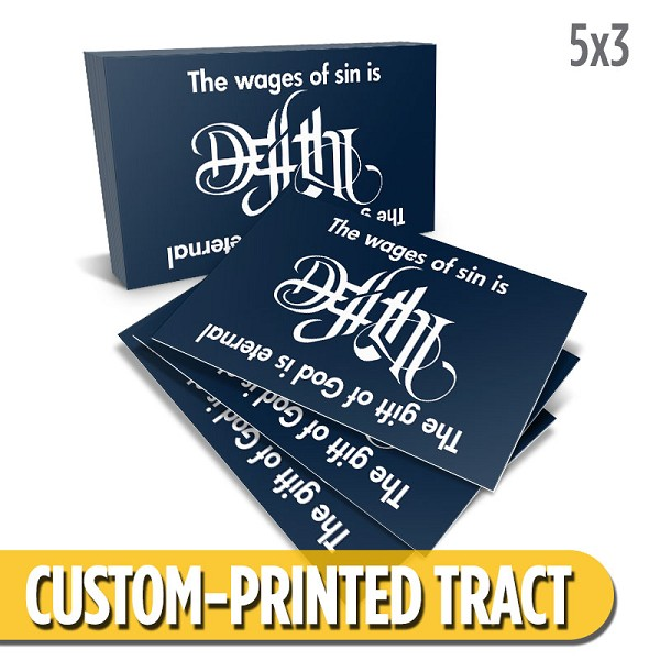 Custom 'Life or Death' Tract (5x3)