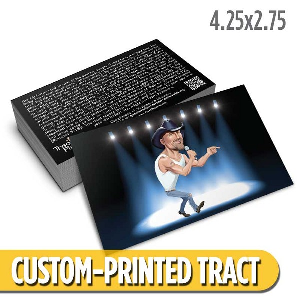 Custom 'Tim McGraw' Tract (4.25x2.75)