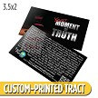 Custom 'Your Moment of Truth Card' Tract (3.5x2)