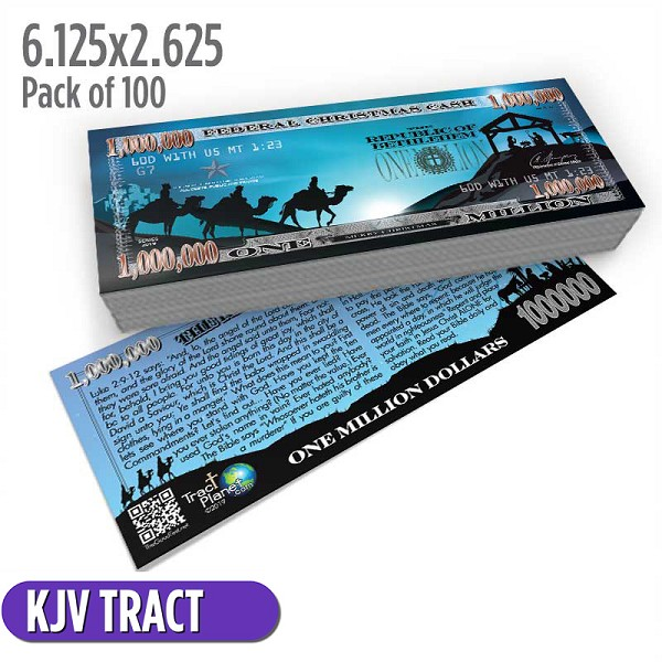 Nativity Million Dollar Bill (Pack of 100)