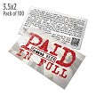 Paid Tract (Pack of 100)
