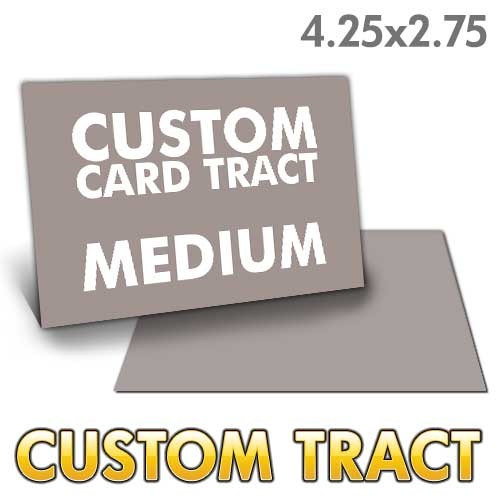 Custom Medium Card Tract (4.25x2.75)