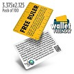 Ruler Tract (Pack of 100)