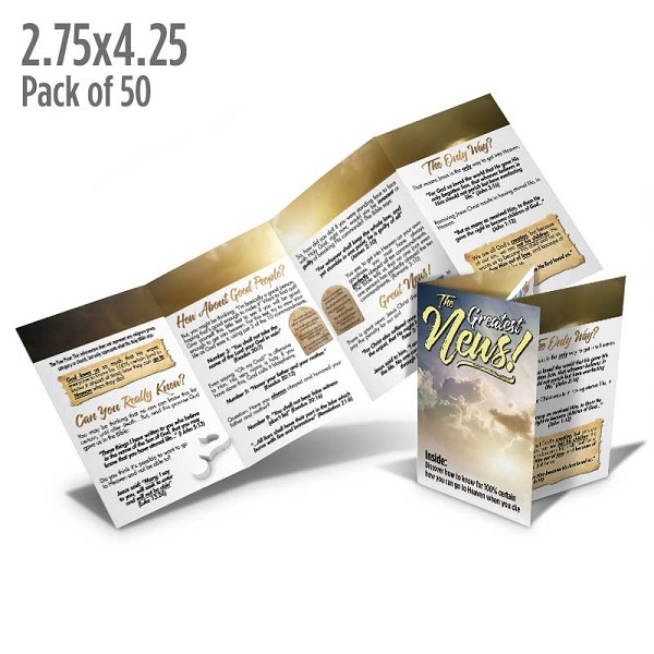 The Greatest News Tract (Pack of 50)