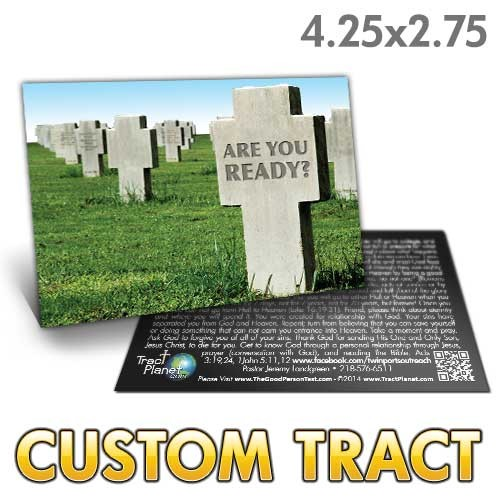 Custom Tract - Are You Ready Tombstone