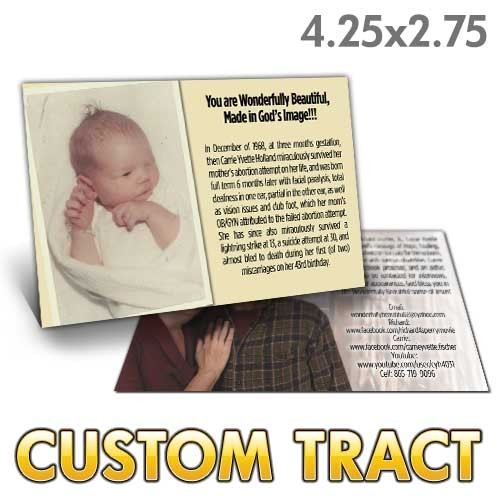 Custom Tract - Fearfully Wonderfully Made