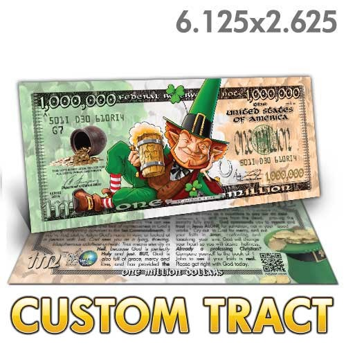 Custom Tract - Lucky Bucks