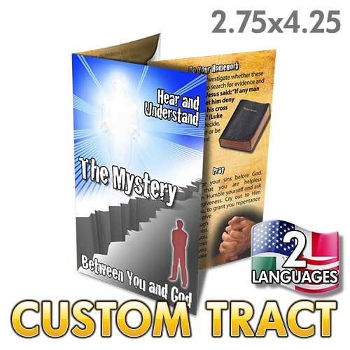 Custom 'The Mystery' Tract (Quad Fold)