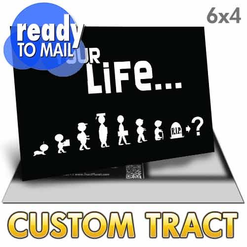 Custom Tract - Your Life Post Card (Ready to Mail)