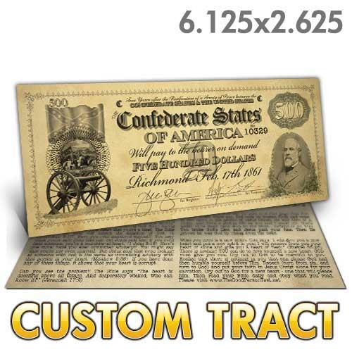 Custom Tract - Confederacy Bill