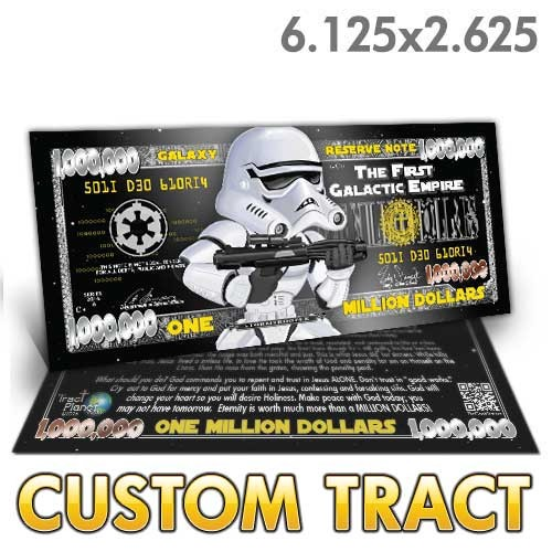 Custom Tract - Star Wars Million Dollar Bill