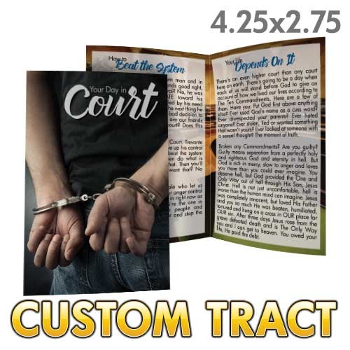 Custom 'Your Day in Court' Tract (Bi-Fold)