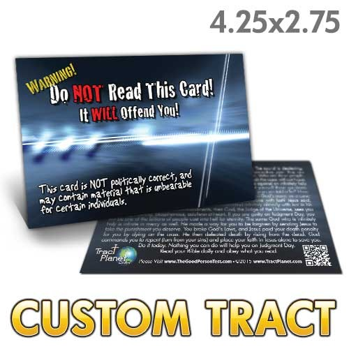 Custom Tract - Do NOT Read This Card