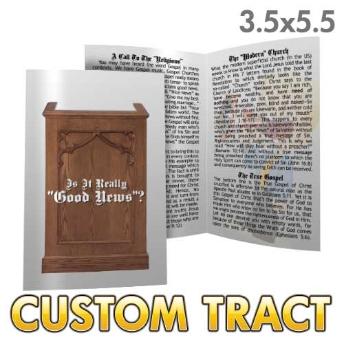 Custom Tract - Is It Really Good News?