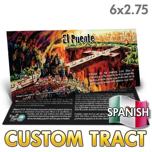 Custom Spanish 'Bridge' Tract (6x2.75)