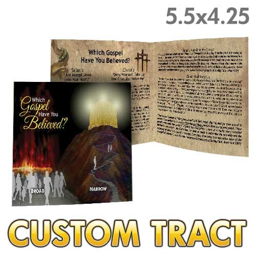 Custom Tract - Which Gospel?