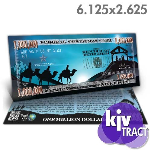 Nativity Million Dollar Bill (KJV)