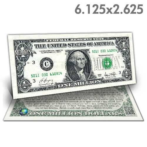 Washington Million Dollar Bill
